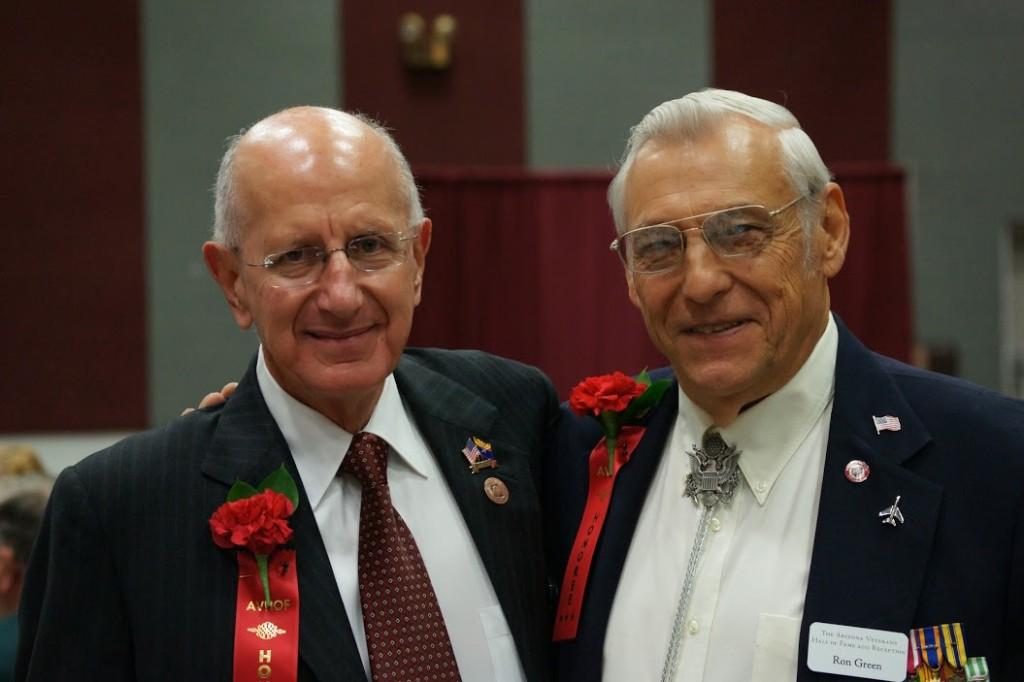 Colonel Gene Rafanell & Lt. Colonel Ron Green