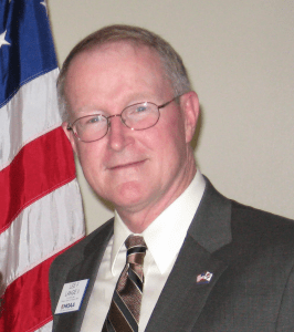 Colonel Lee Lange, USMC retired